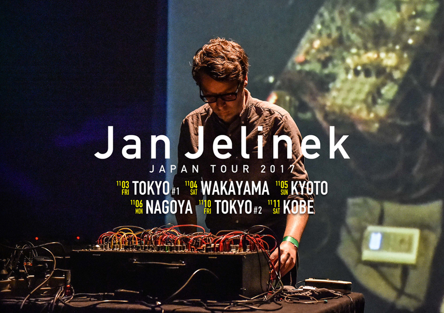 2017/11/04 Jan Jelinek Japan Tour 2017 @HERON